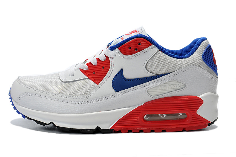 air max 90 essential homme blanc et rouge