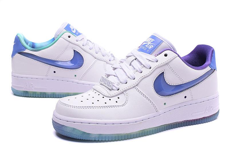 air force 1 basse femme bleu et blanche,Nike Air Force 1'07 ...