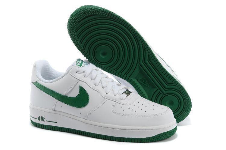 air force 1 blanche et verte