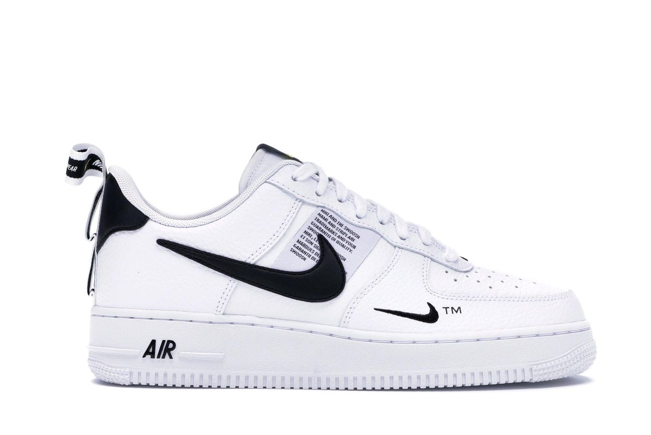 nike air force 1 low homme noir