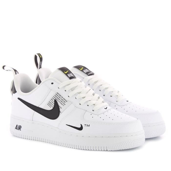 air force one pas chere,Nike Air Force 1 Low '07 Blanc – achat pas cher GO Sport