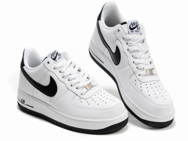 nike air force 1 noir blanc