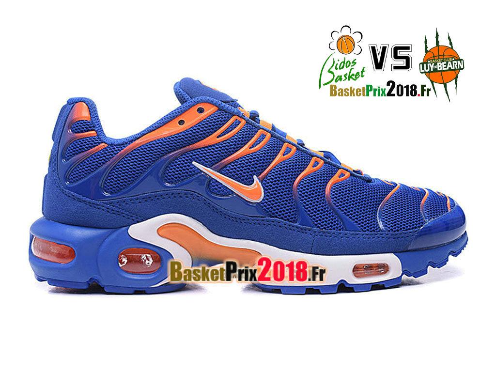 air max 2018 orange et bleu homme,Chaussures Nike TN Prix Homme Nike Air Max Plus Tuned Bleu Orange