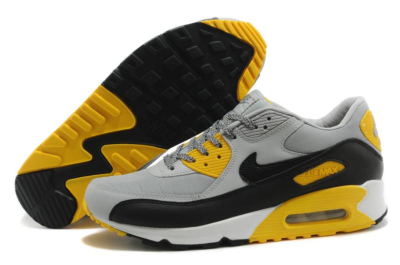 air max jaune et noir