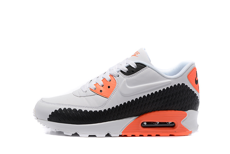 air max 90 noire orange