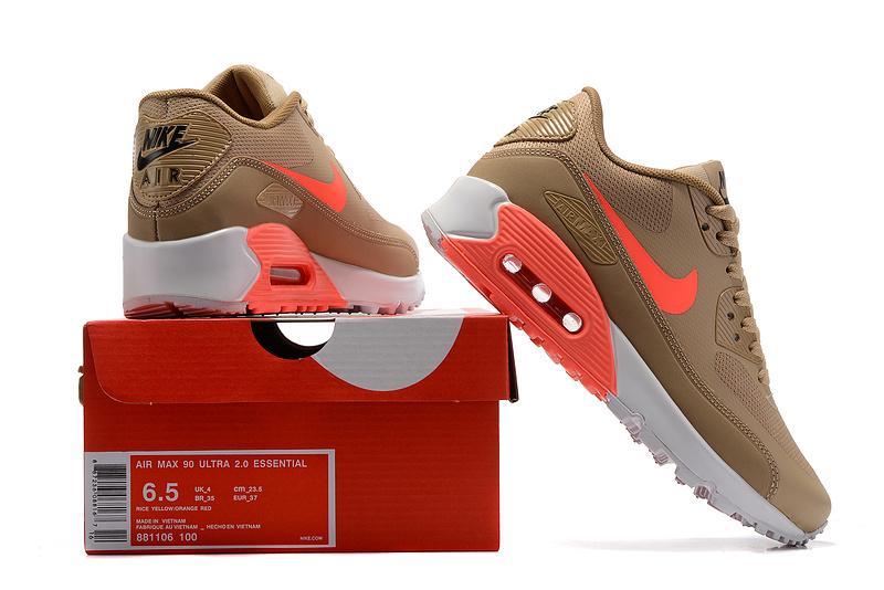 air max 90 ultra femme jaune et orange,Nike Air Max 90 Ultra 2.0 jaune Chaussures Baskets femme Chausport