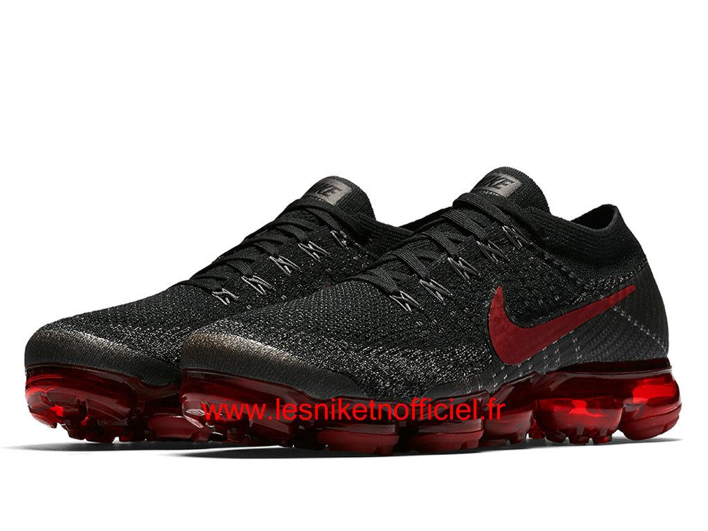 chaussure nike homme pas cher,Nike Air VaporMax Bred Chaussure Nike Running Pas Cher Pour Homme