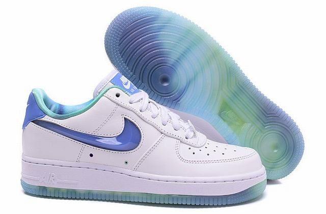 nike air force 1 low femme bleu