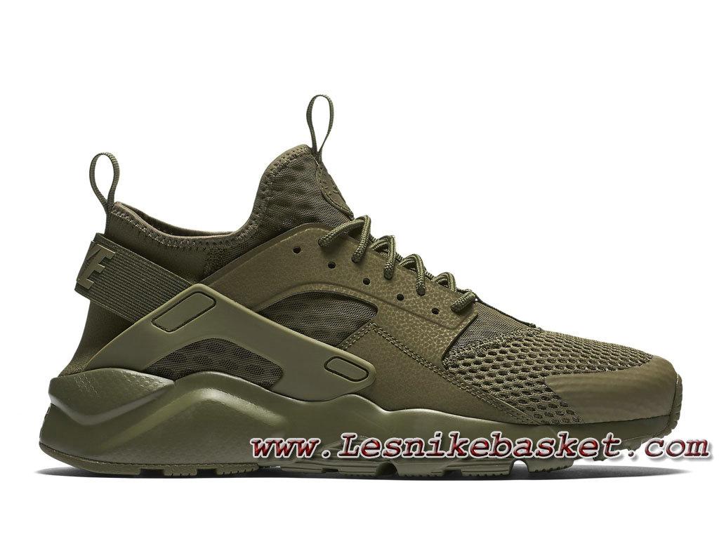 homme air huarache ultra olive,Homme Nike Air Huarache Ultra Breathe Medium Olive Vert 833147_200
