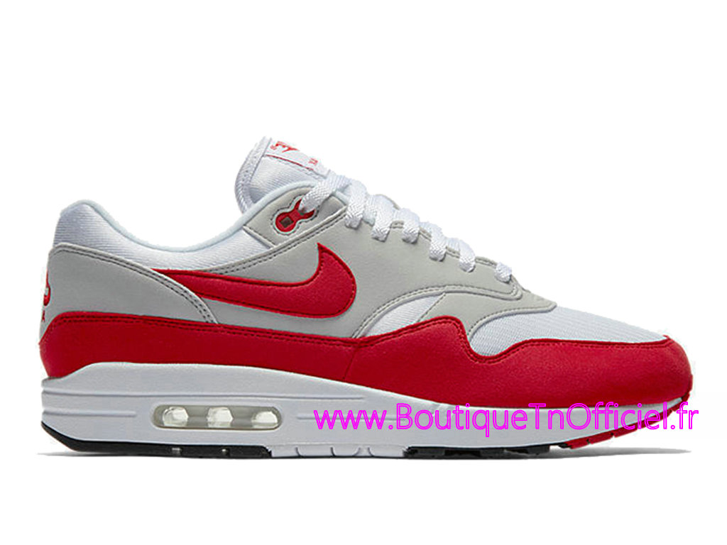 homme air max 1 rouge,Officiel Nike Air Max 1 OG Red 2017 Chaussures Nike 2018 Pas Cher