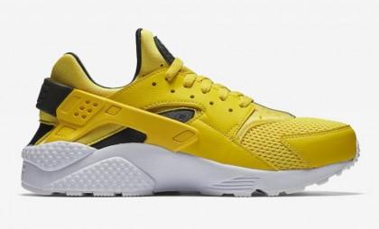 nike ai huarache jaune et noir homme,Nike Air Huarache Lightning Jaune 318429 700