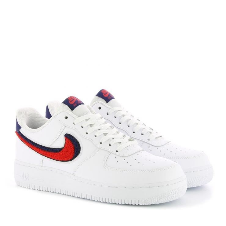 basket nike air force 1 blanc et rouge
