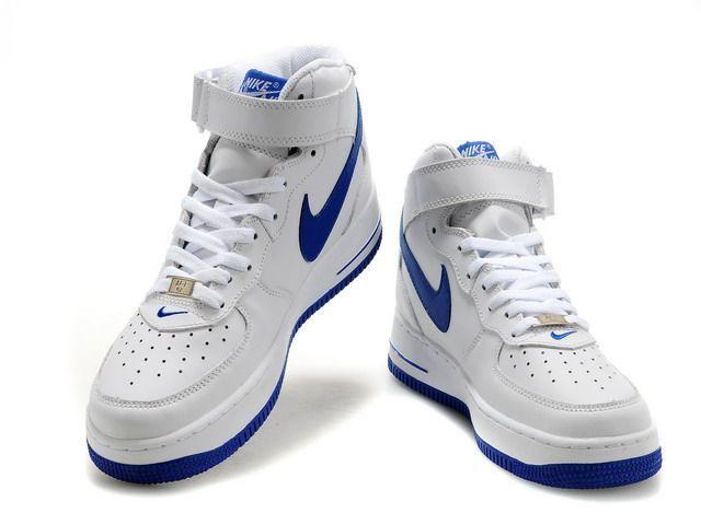 air force 1 homme bleu et blanche