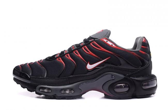 nike air homme noir rouge,Homme Nike Air Max TN Noir Rouge