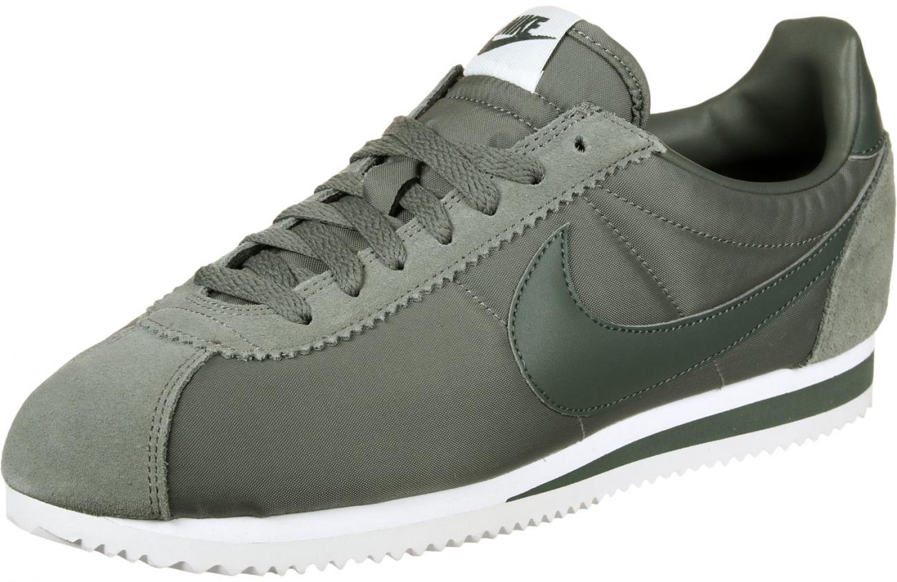 nike classic cortez olive homme,Nike Classic Cortez SE Olive Chaussures Baskets homme Chausport