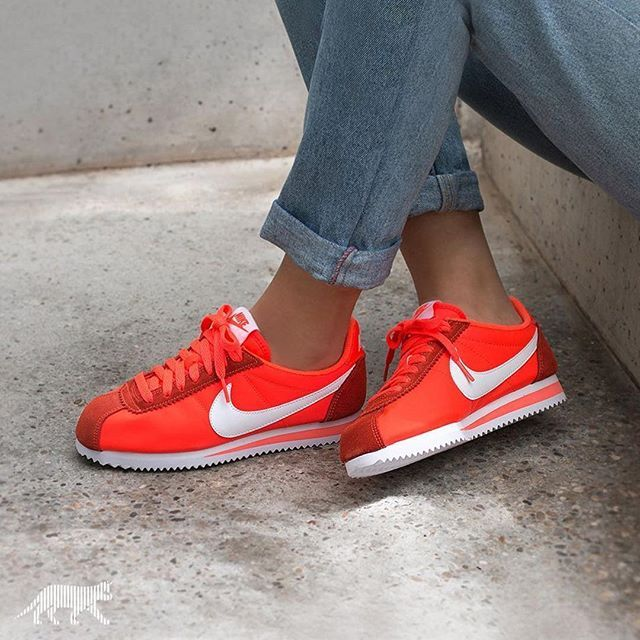 nike cortez femme nylon,épinglé sur Sneakers
