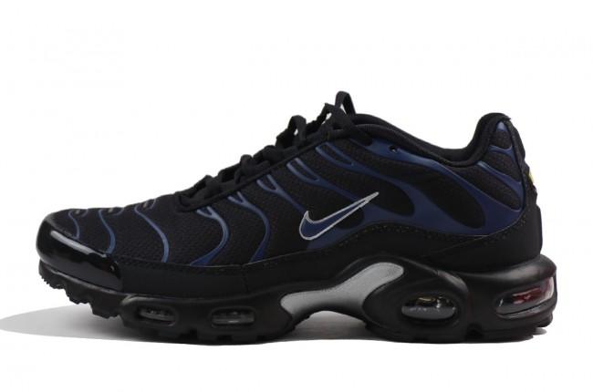 nike max plus tn noir et bleu homme,Homme Nike Air Max Plus TN Noir Bleu